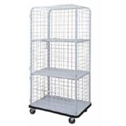 OWEN linen cage cart
