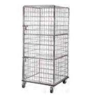 ELIJAH linen cage cart