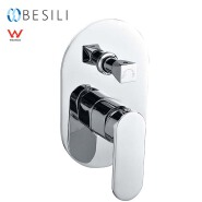 Sanitary Ware Single Handle Australia Wall Shower Mixer Watermark Taps With Diverter HD5476B