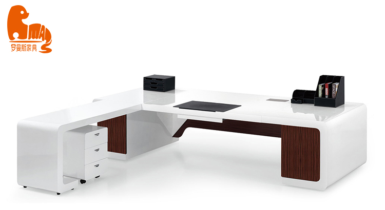 Classic big size CEO office desk customized design wood office desk