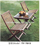 Outdoor picnic table and chair /Dinning Table Solid Wood/ Wooden Picnic Table And Bench