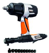 Freeman Air Impact and Ratchet Wrench Kit