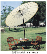 Outdoor Colorful garden beach kids wood picnic table with umbrella