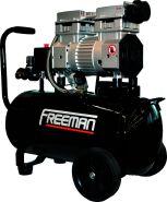 Freeman 30L oil free car air compressor less maintenance and more durability