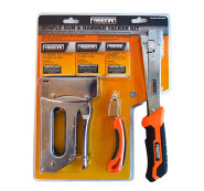 Freeman Staple Gun and Hammer Tacker Kit