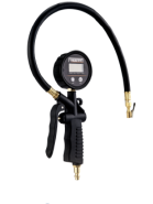 Freeman Composite Digital Tire Inflator with LED Pressure Gauge