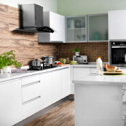 luxury villa high quality kitchen cabinet professional supplier