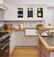 Home kitchen heavy duty storage cabinets, acrylic shelving unit cabinets with doors.