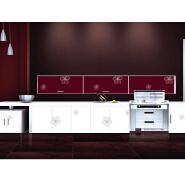 High quality wooden white MDF bar modern kitchen cabinets