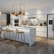 kitchen cabinet doors with custom printing designs manufacturer