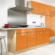 high gloss finish good design long life kitchen cabinet