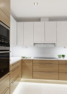 L shaped modular kitchen cabinet designs organizer malaysia, fiber cabinet with pull out aluminium d