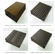 Hunan TAOJIANG BAMBOO TECHNOLOGY CO.,LTD Strand woven Bamboo Flooring