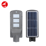 Hot selling high lumen integrated motion sensor 20w 40w 60w 80w 100w all in one led solar street lig