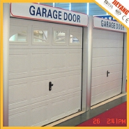 Customized size of commercial sectional garage doors prices