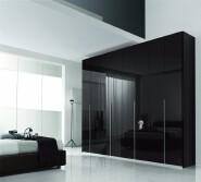 Luxury Swing opening door india style bedroom cupboard