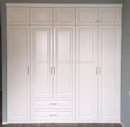 3 door bedroom wall wardrobe simple design