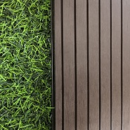 Factory direct laminate eva wood plastic composite deck flooring