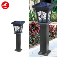 3W IP65 High Luminous Flux Waterproof Outdoor LED Solar Garden Lawn Lamp Light Price
