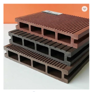 Manufacturer Exterior Swimming Pool wood plastic composite Solid WPC Decking Flooring