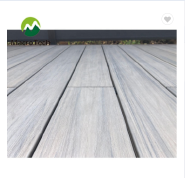 Anti-uv classic terrasse wood plastic composite flooring decking