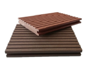 factory price co-extruded solid wpc decking