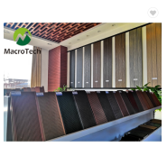 Ultra premium quality best decking material hollow composite decking board