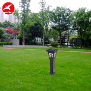 aluminum housing outdoor led solar power lawn garden lamp for sale