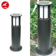 aluminum housing ip65 pathway powered solar led lawn garden light for sale