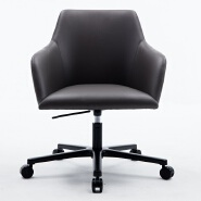 Plastic seat swivel lounge Living room office chair plastic base five-star feet legs with wheels