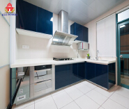Wholesale high gloss UV kitchen cabinet for sale