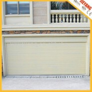High quality aluminium automatic interior roll up garage door