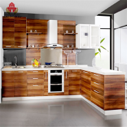 High Glossy UV painting kitchen cabinet