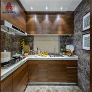 Home furniture second hand kitchen cabinet uv plywood kitchen cabinets