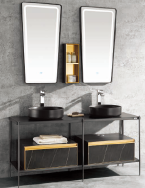 FOSHAN DAQIN SANITARY WARE CO.,LTD Bathroom Cabinets