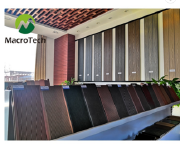 Natural cheap cheap composite decking material