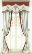 Boomd's household and clouth art company ltd. Window Curtains