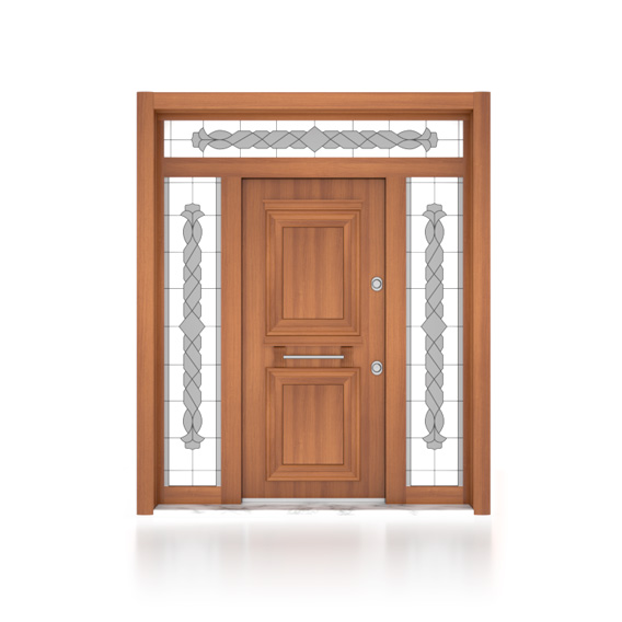 Wood-Plastic Doors