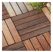 DIY Outdoor Bamboo Decking Flooring Solid Outdoor Bamboo Decking Thickness 12MM 14MM