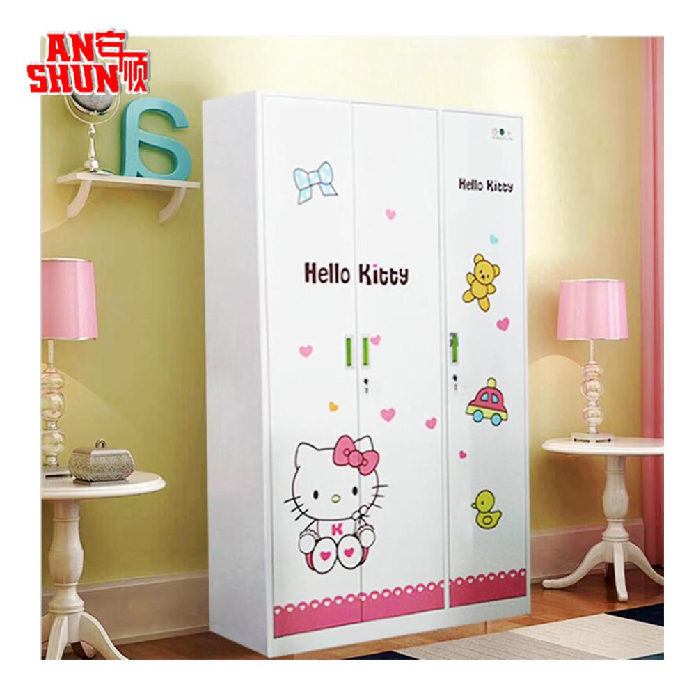 Fas 092 Steel Clothes Almirah Designs Bedroom Baby Cupboard 3 Door Almari Price On Buildmost