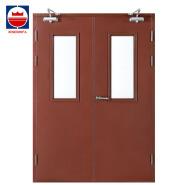 Low Price Double Leaf Steel Fire Rated Door Design