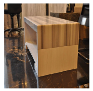 Straight Veins White Marble Countertops/Worktops/Tabletops