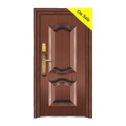 XSF Low Price steel doors kenya powder coated safety steel door design steel lattice door for wholes