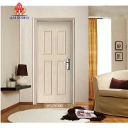 Elegant White WPC Door Single Swing Door For Bathroom