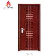 Top selling decorative bathroom door HSB-02 WPC door in Guangzhou