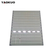 Hot Sale Custom Aluminum Profile Fire Rated Rolling Shutter Door For Warehouse