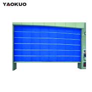 Custom design durable folding industrial automatic rolling door