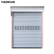 Wholesale Fireproof Aluminum Quick Rolling Shutter Door
