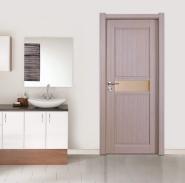Eco-friendly Entry WPC Door Single Door For Home