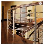 outdoor curved balcony stainless steel prefabricated railings design philippines